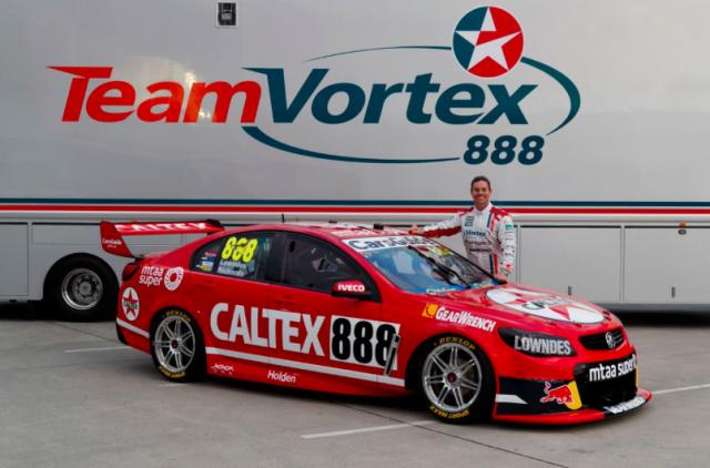 Lowndes Unveils Retro Caltex Colours Lowndes V8 Supercars Australia Super Cars