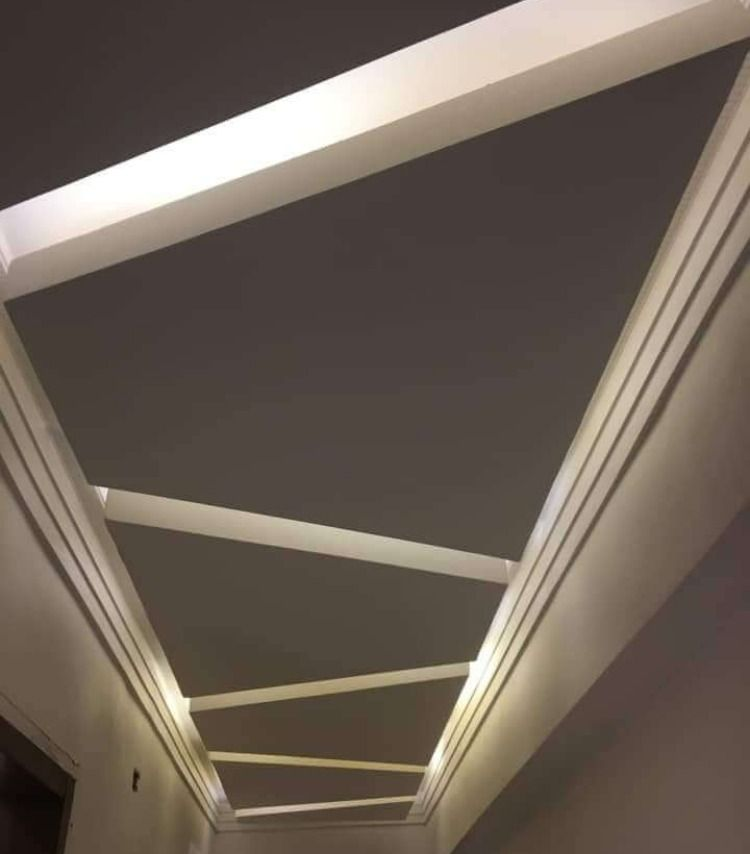 جبس ممرات 2020 أفضل ديكورات جبس فخمه للممرات والمداخل لبيتك الجديد Bathroom Design Luxury False Ceiling Design Bedroom False Ceiling Design