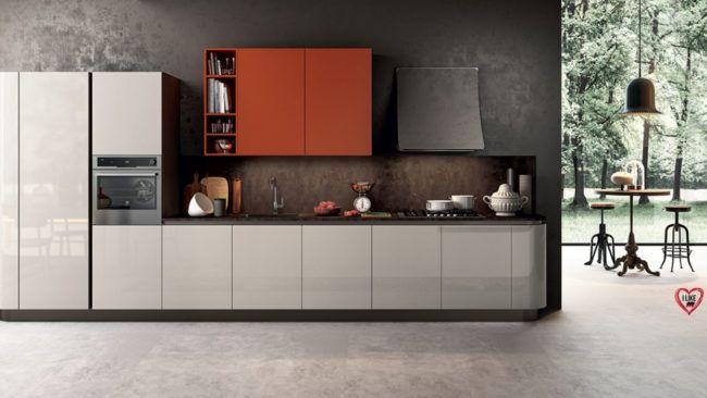 Cucine Lineari Moderne Offerte.Cucine Lineari Moderne Padova Anche In Offerta Trova La Tua