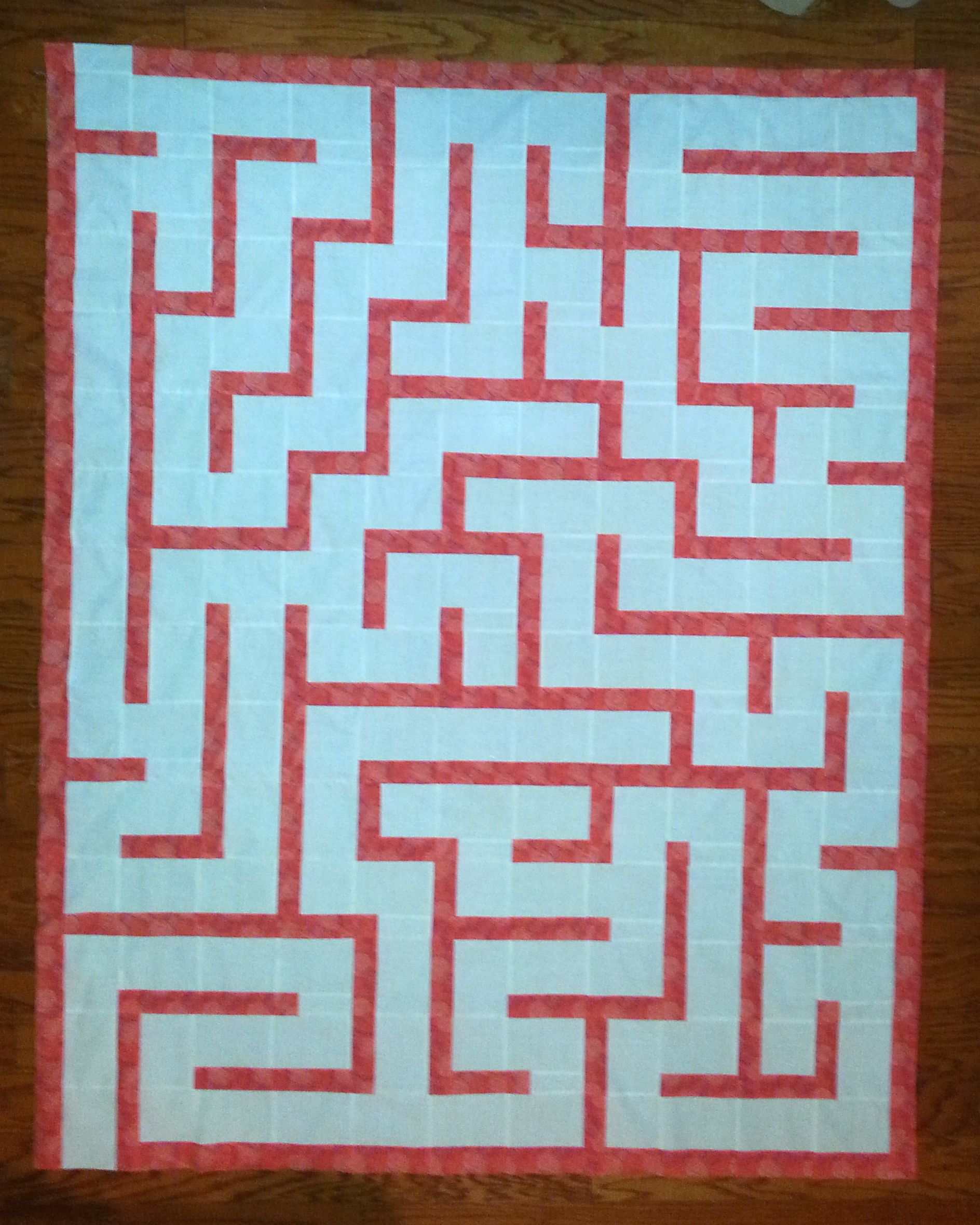 9b26742fe1b Amazement Maze Quilt Pattern by Jaded Spade Creations encourages children  in creative learning play. Easy to follow pattern for beginner quilters.