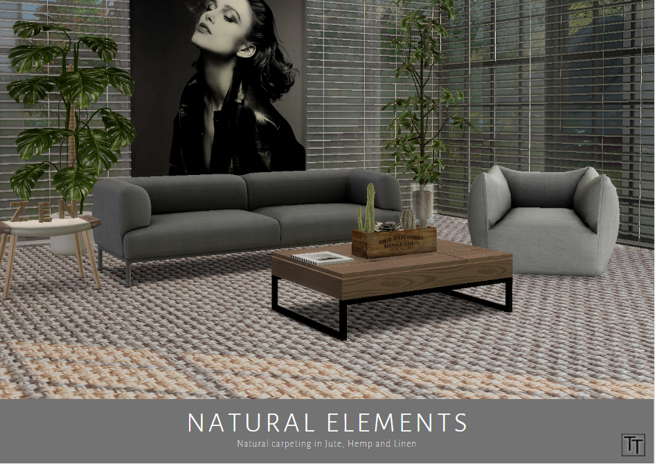 Natural Elements Flooring Sims 4, Outdoor sectional sofa