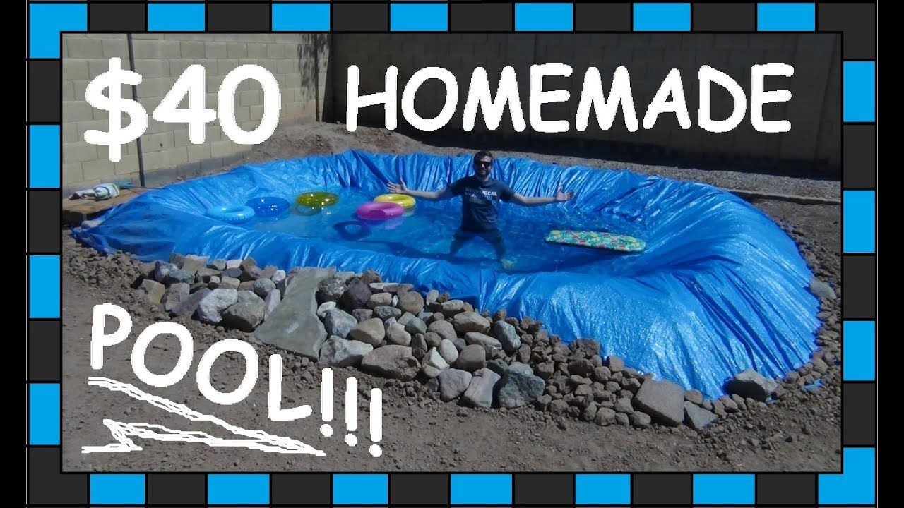 DIY Pool!!! // 40 Homemade swimming Pool!!! YouTube
