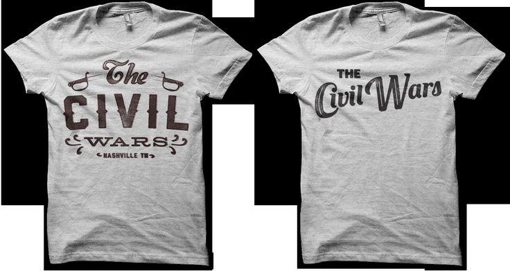b53e355e the civil wars band shirt - Google Search | Gift ideas | War band ...