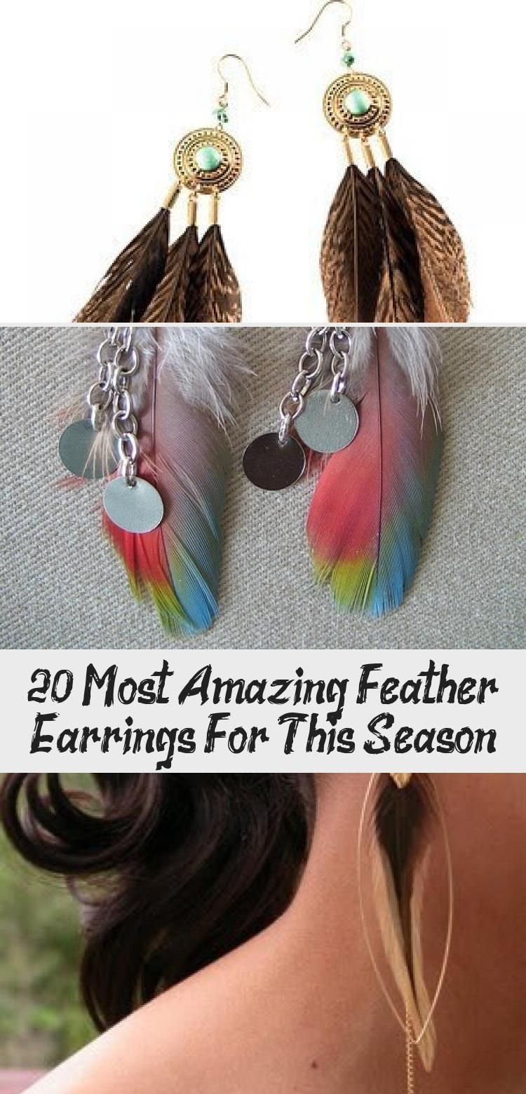 Photo of 20 Most Amazing Feather Earrings For This Season – Jewelrys