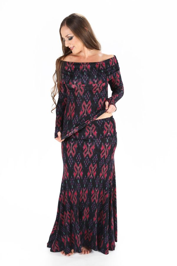 Check out the deal on Colleena Shakti Printed Flamenco Skirt at Melodia Designs