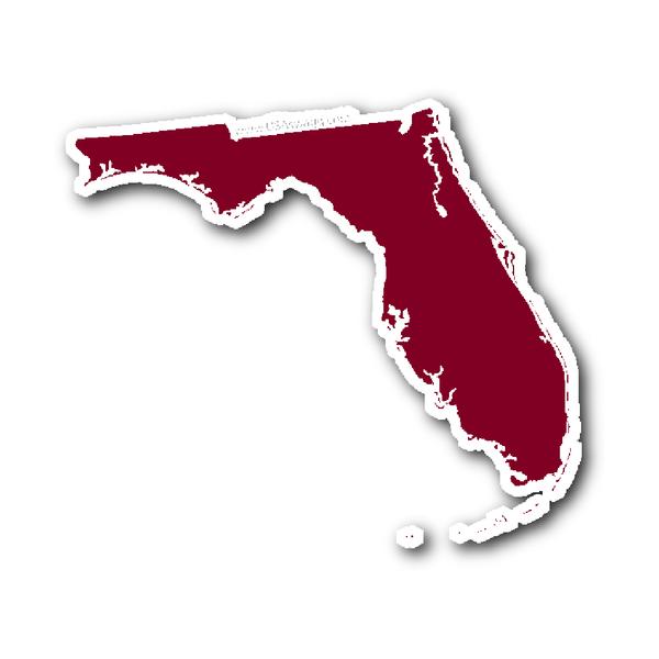 Florida State Shape Sticker Outline Black Florida State State Shapes Florida