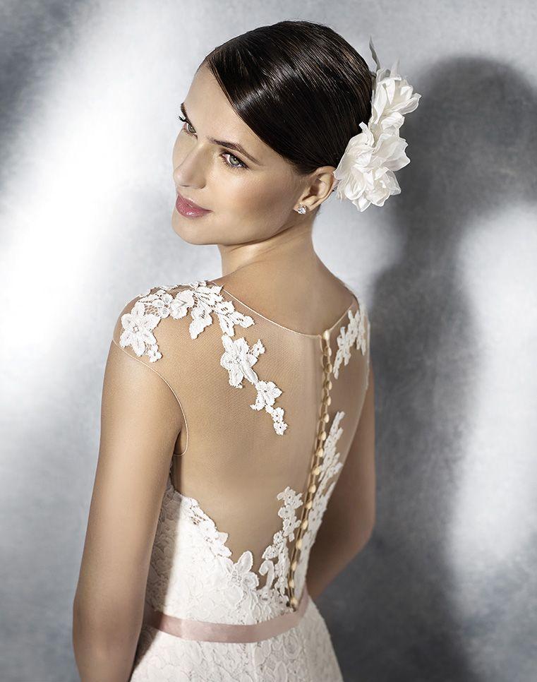 Ein #Brautkleid für Bräute mit Kurven und doppeltem WOW Effekt ...