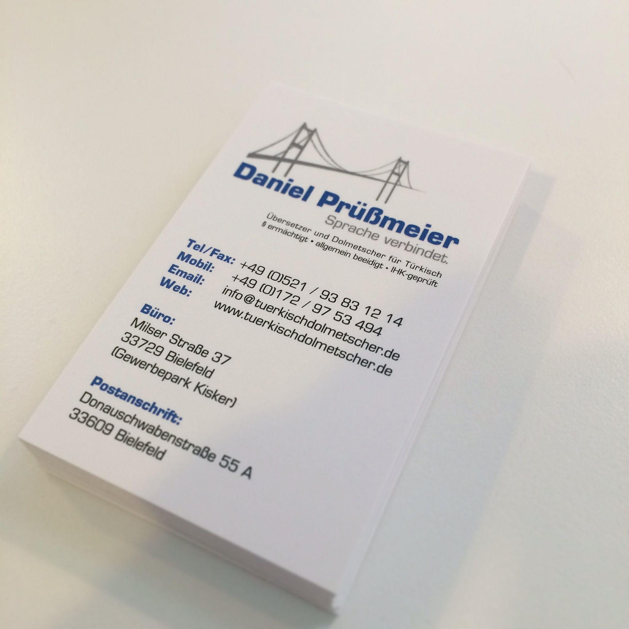 Pin Von Witte Mediendesign Auf Visitenkarten Visitenkarten