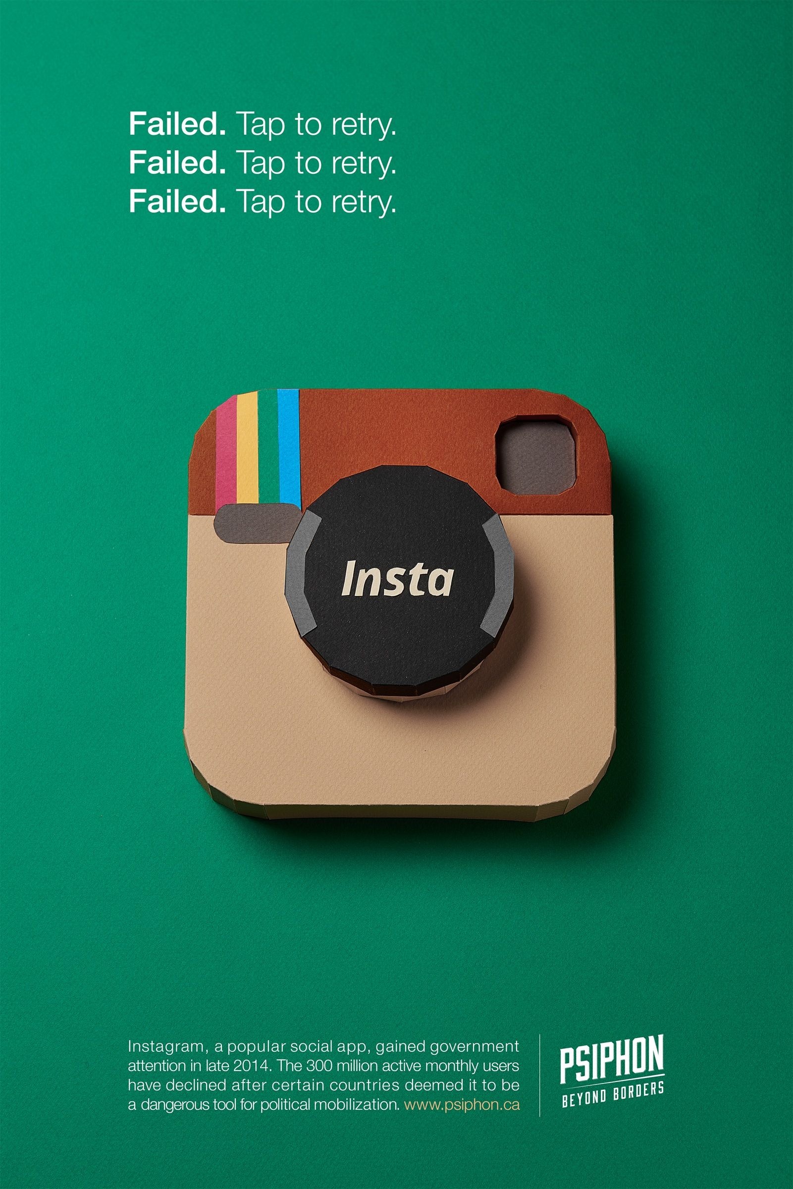 Psiphon Instagram Rack & Pinion A for Ads