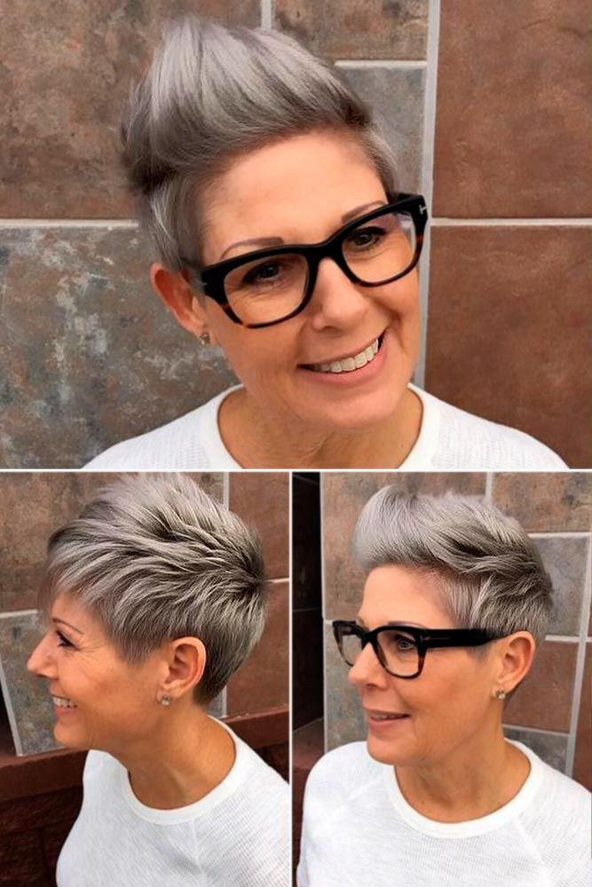 20 Trendy Short Haircuts For Women Over 50 Pixie Junkie Short
