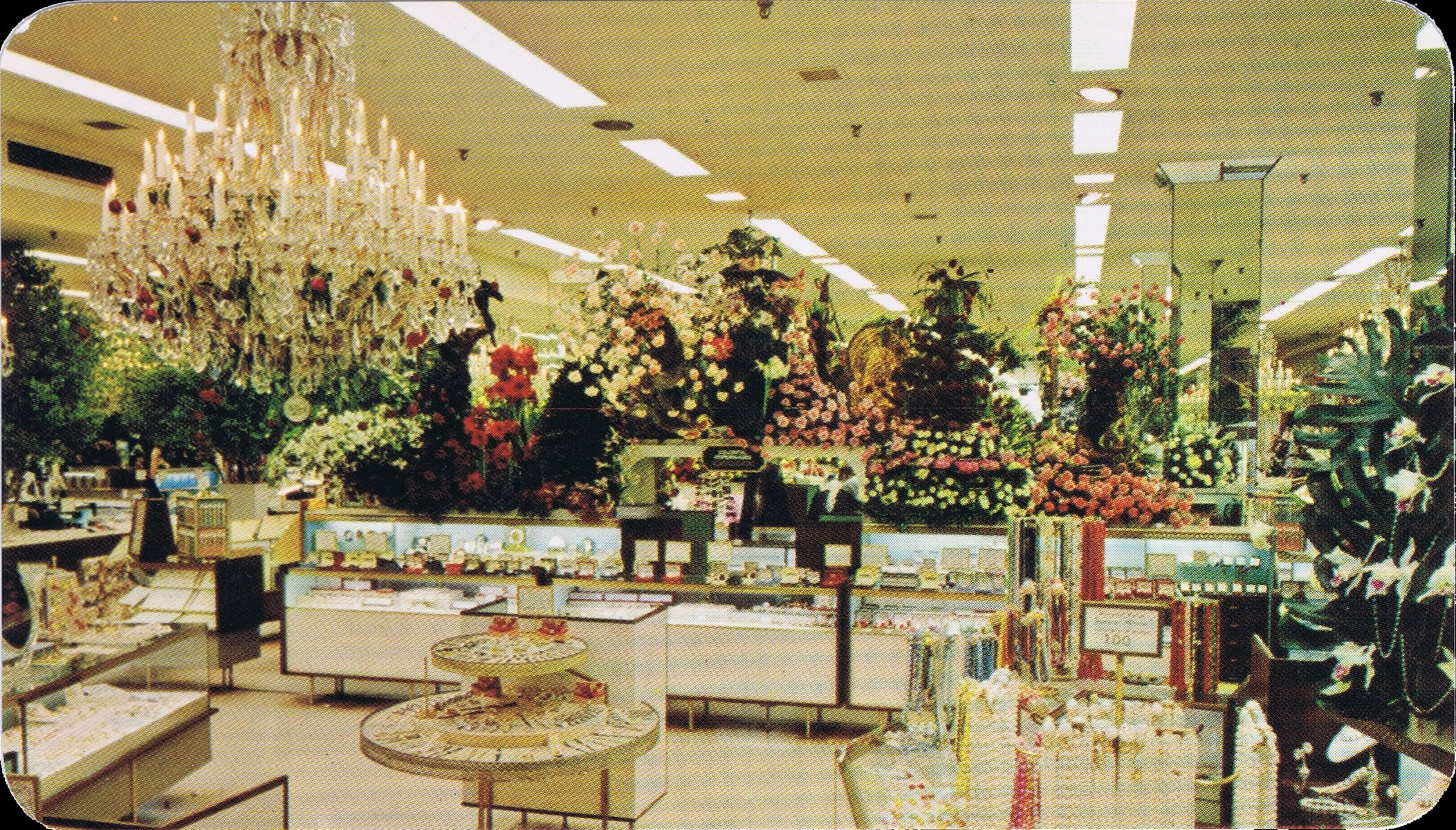 Postcard From Hess S Department Store S International