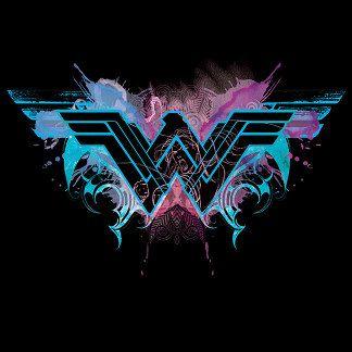 Wonder Woman Watercolor Logo Wonder Woman Tattoo Wonder Woman Art Superman Wonder Woman