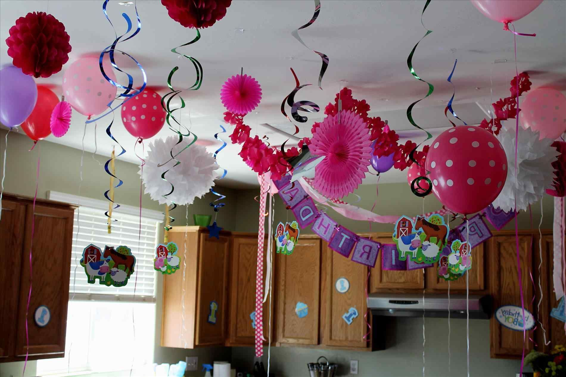 simple birthday decoration ideas at home for kids