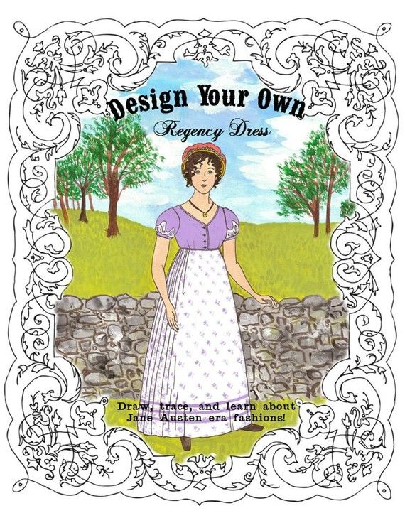 I bought this to help me with my regency sewing. Having my ideas on Paper first, helps me visualize the finished dress. And shows me what goes and what doesn't..even though it seemed ok in my head. I love this kit!!!