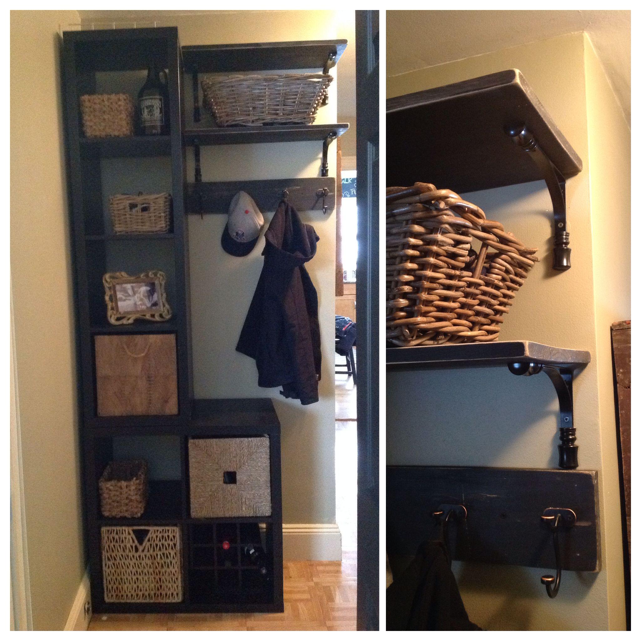 create storage 2 ikea kallax shelving unit 2x2. Black Bedroom Furniture Sets. Home Design Ideas
