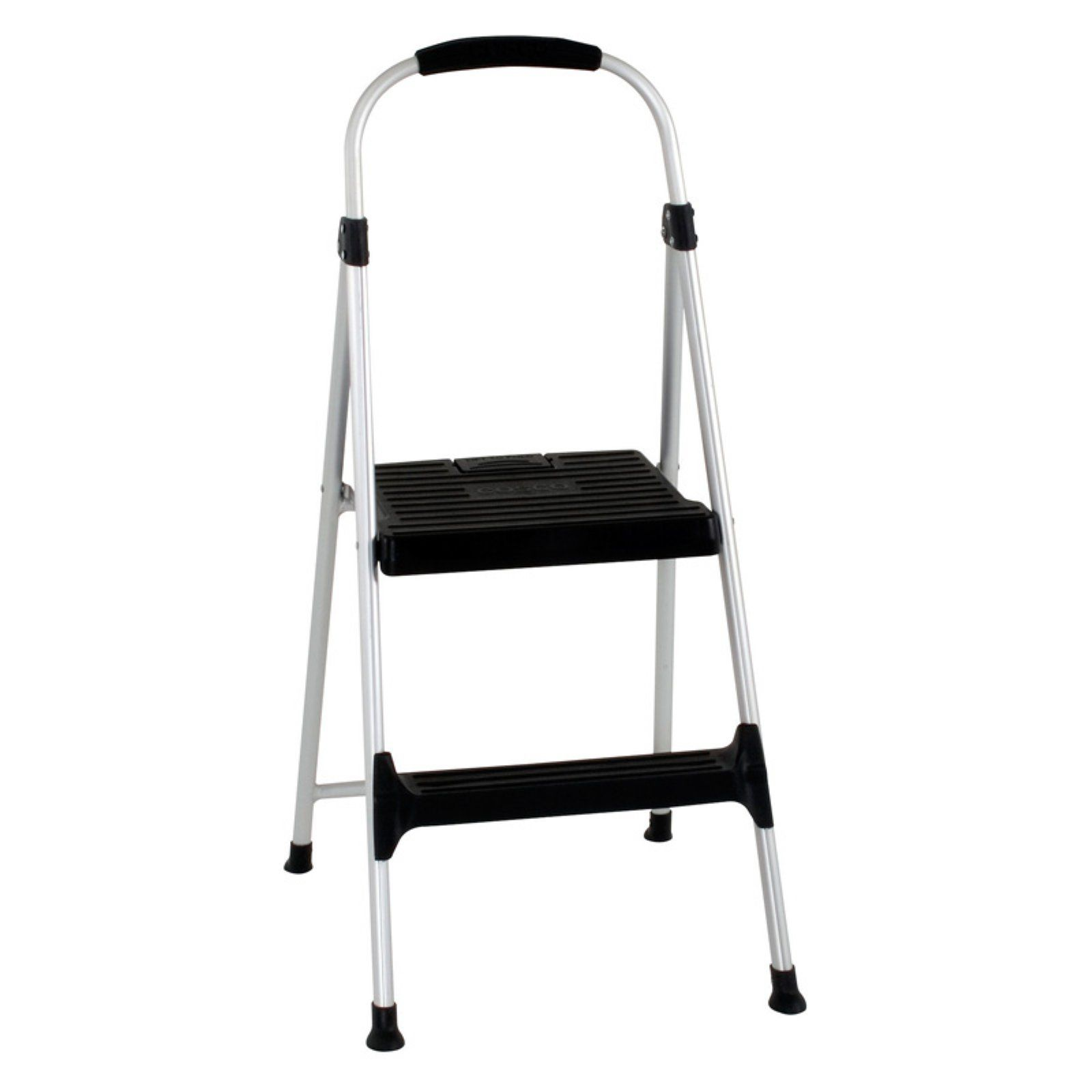 Cosco 2 Step Folding Step Stool With Handle Grip Folding Step