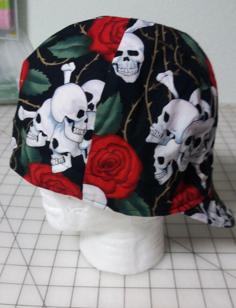 welding caps,reversible,cap liner lots of skulls
