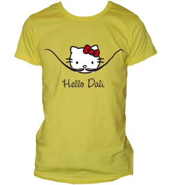 Hello Dali shirt from the Unemployed Philosopher's Guild. $19.95 --- please