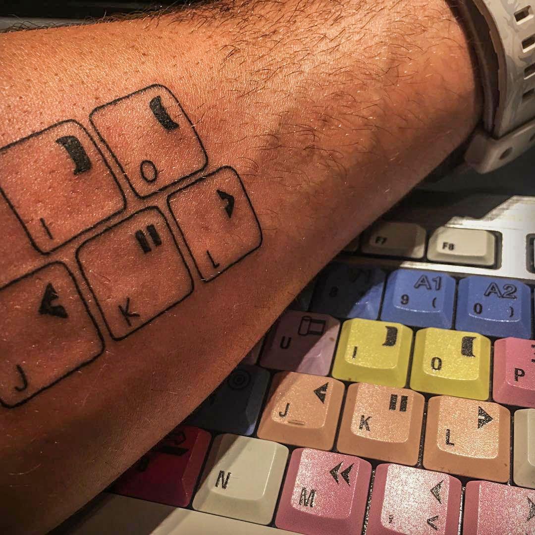 Editor For Life Showing Some True Dedication Instagr Am Marcogibelli Tattoo Videoediting Avid Mediacompose Video Editing Video Editing Software Avid