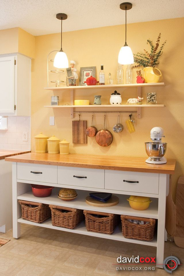 A Great Image In 2020 Yellow Kitchen Decor Freestanding