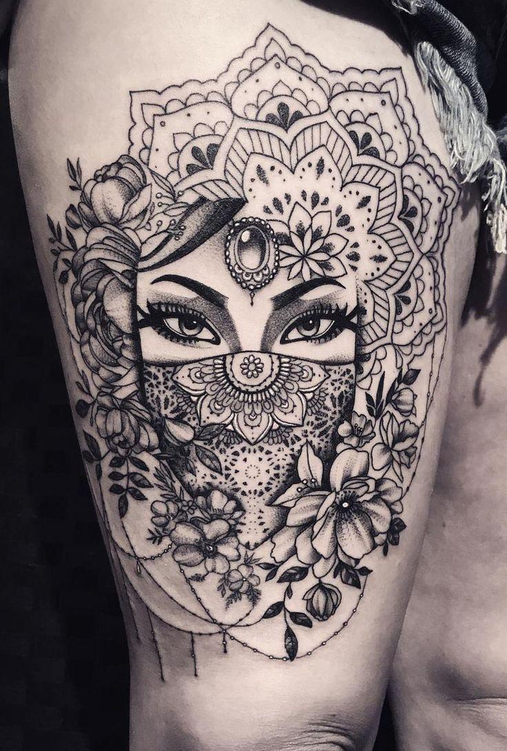 50 der schönsten Mandala Tattoo Designs für Körper & Seele,  #amp #der #Designs #für #Kör…