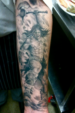 Lower Arm Tattoo Design | Lower Arm Tattoos | Pinterest | Lower arm ...