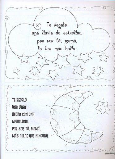 Poemas Canciones Para El Dia De La Madre Para Niños Manualidades Dia De La Madre Manualidades Dia De Las Madres Dia