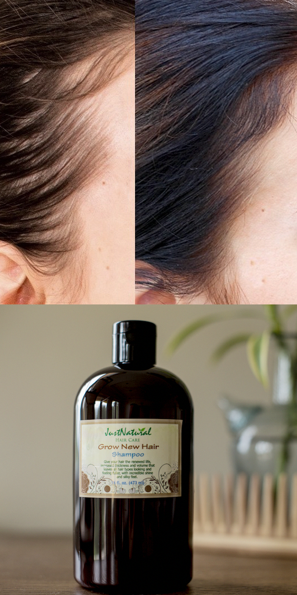 This just natural shampoo for men and women cleanses your