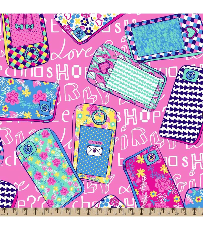 Anti pill fleece fabrictechno girly techno girly and fabrics