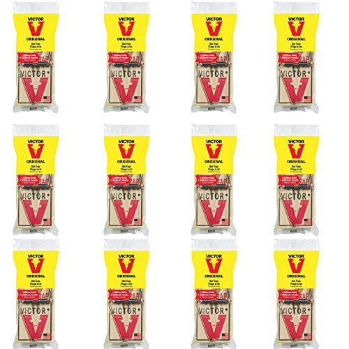 Pest Control Traps Victor Metal Pedal Rat Trap Pack Of 12 For More Information Visit Image Link This Is An Amazon Affiliate Rat Traps Pest Control Traps