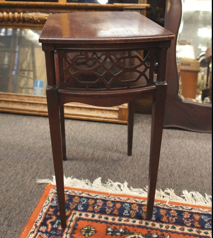 Best Vintage Mersman Mid Century Modern End Side Table Ornate 640 x 480