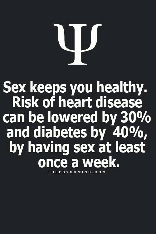 sex keeps you healthy