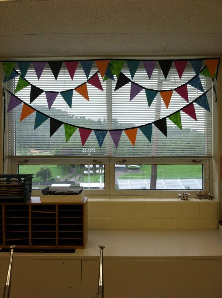 Polka Dot Lesson Plans No Sew Classroom Pennant Banner