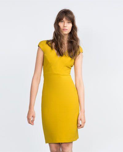 Image 4 of SHIFT DRESS from Zara