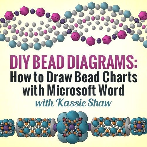 DIY Bead Diagrams How to Draw Bead Charts with Microsoft Word - ms word user manual