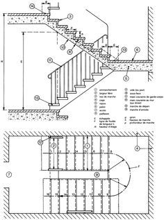 Pin by reshma paul on architecture pinterest stairs architecture stair plan and staircase for Construction drawings and details for interiors