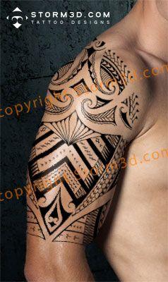 samoa shoulder tattoo sonny bill williams design Tatuaje Samoano