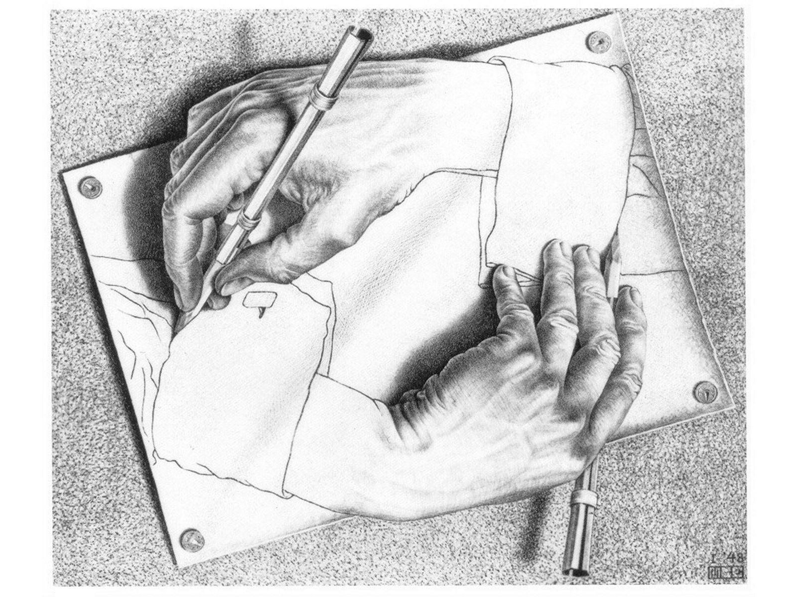 Drawing drawing itself