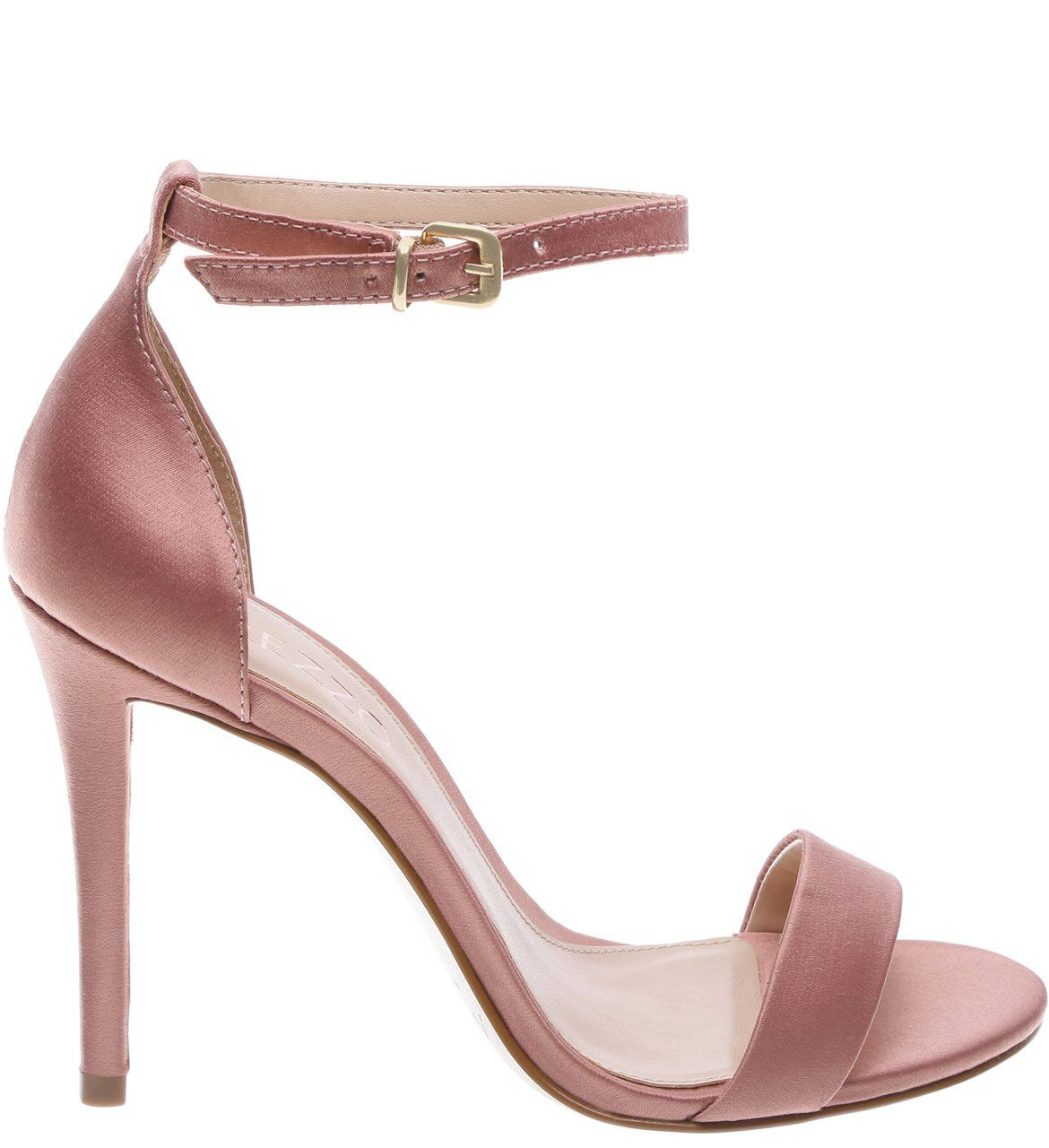 9dd53a6377 O modelo clássico de sandália - com elegante salto fino e alto