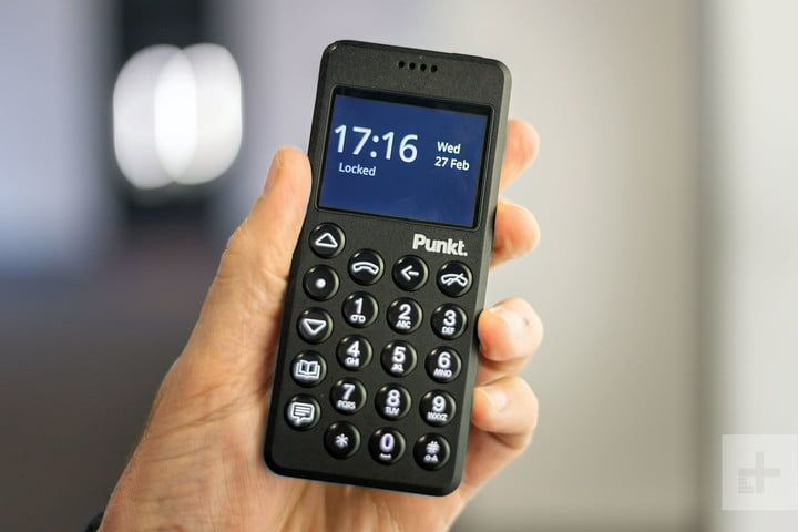 The Punkt is no dumb phone it's much smarter than you