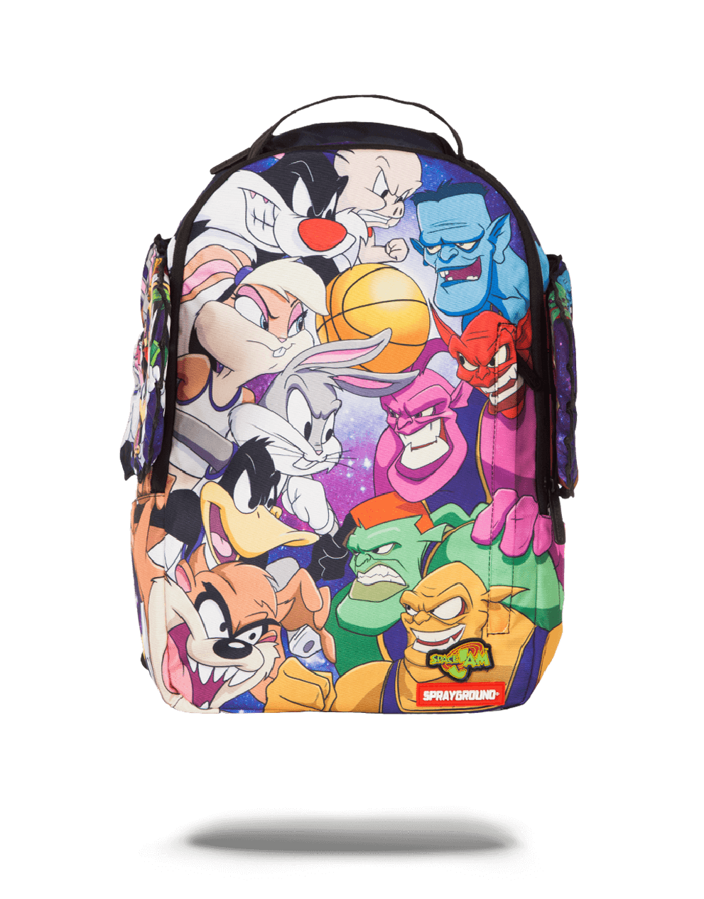 Space Jam Tunes vs. Monstars Bookbag on www.