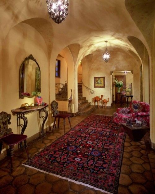 mediterranean-style interior