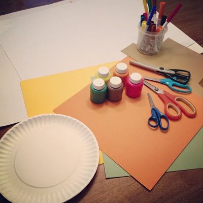 {After Dinner} Family Art Night from Connecting Family  Seoul. What a lovely idea for family time!