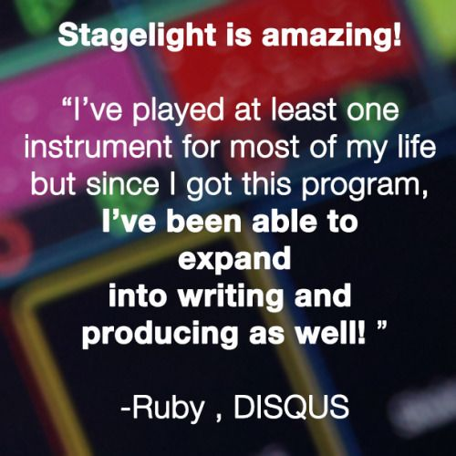 Here's what #Stagelight users are saying about The Easy Way to Create Music!  You too can expand your musical skill-set with Stagelight 2.2's Exclusive Artist Bundles and advanced new features. Check out all the user reviews about Stagelight at http://bit.ly/1BjjnKv