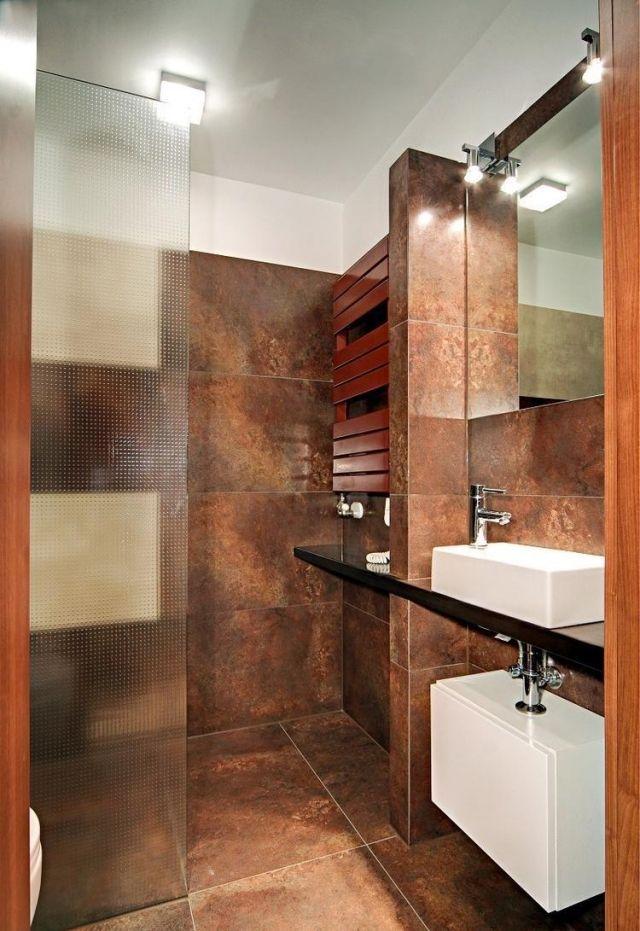 28 idées d\u0027aménagement salle de bain petite surface Small bathroom