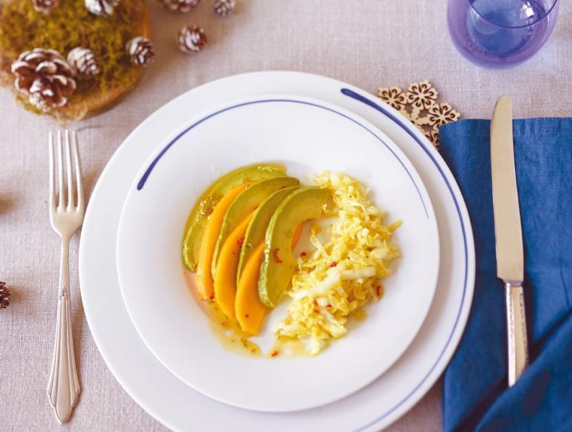 Leichte Sommerküche Essen Und Trinken : Avocado mango salat rezept leichte sommerküche und gazpacho