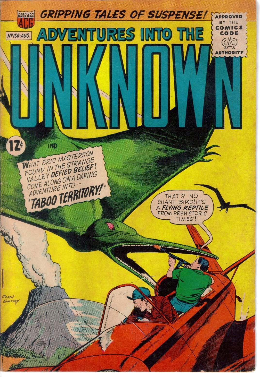Adventures into the unknown comics comic books vintage