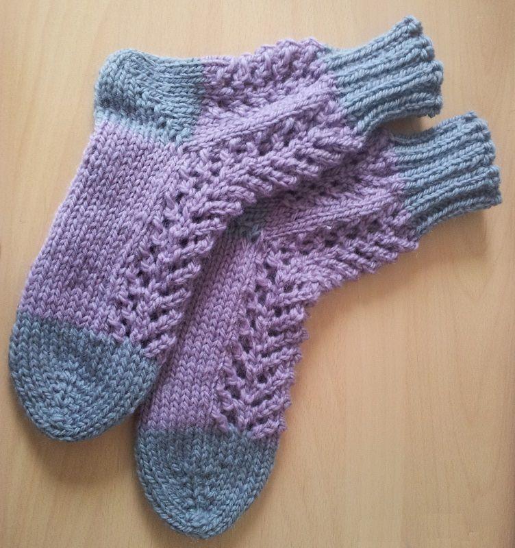 Grandma's Knitted Bed Socks | Bed socks, Knitted, Socks