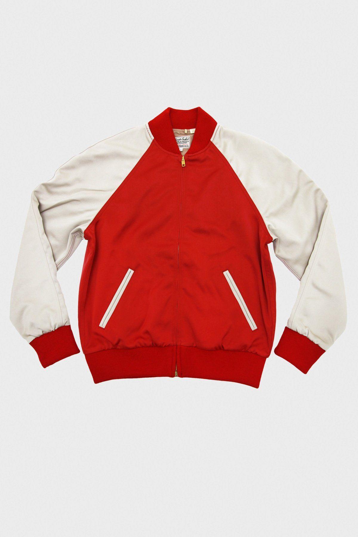 Levi S Vintage Clothing Climate Seal Bomber Jacket In Red Bomber Jacket Vintage Red Bomber Jacket Raglan Sleeve Bomber Jacket [ 1800 x 1200 Pixel ]