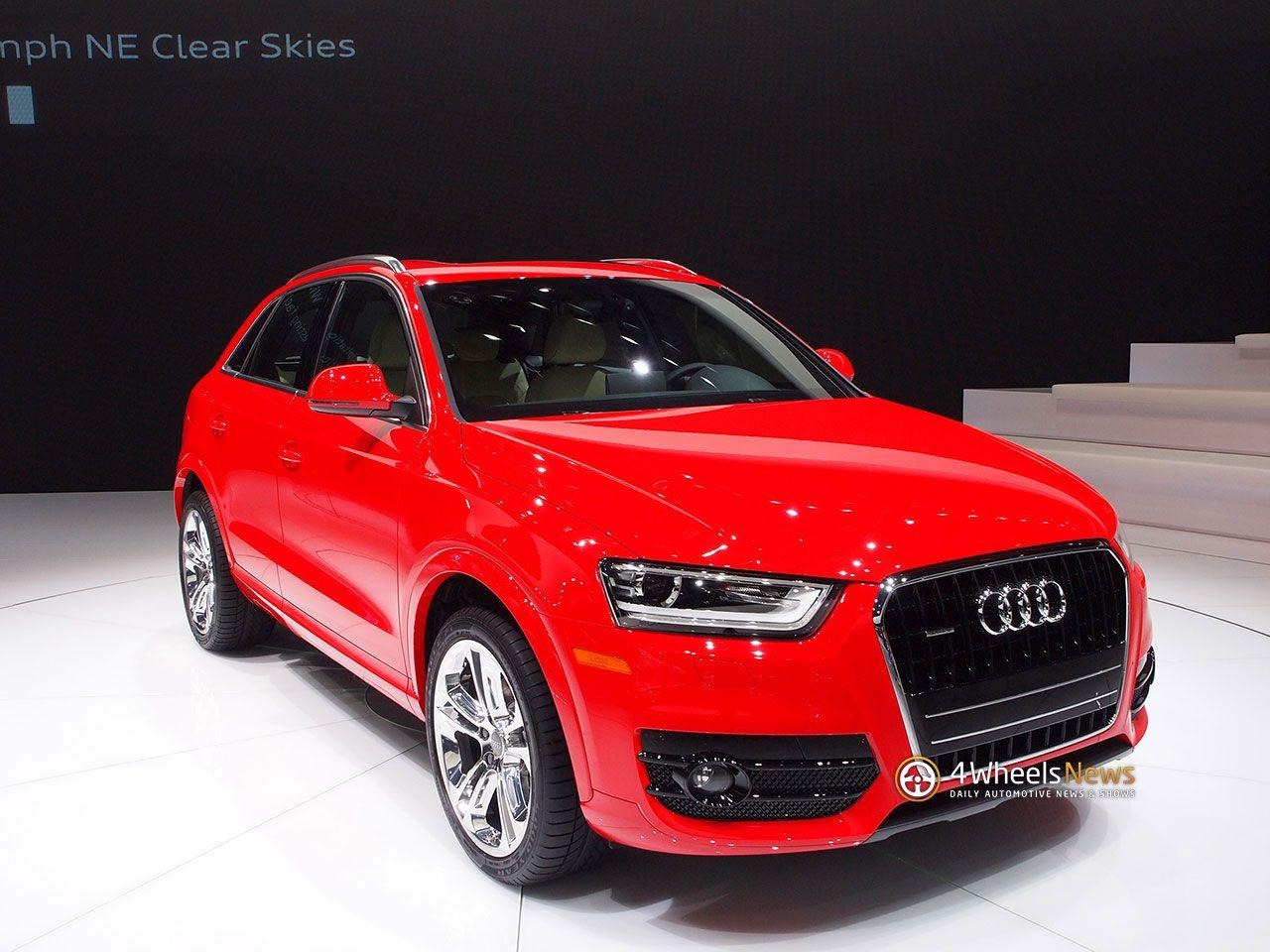 2015 Audi Q7 Red Wallpaper Full Screen